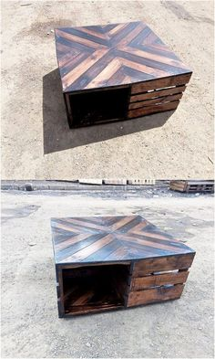 The Best and Easiest DIY Ideas with Recycled Wood Pallets: Let's give your dream home the feel of reality by showing you out with some of the mesmerizing and charming ideas of the old shipping wooden pallets. Old Pallets, Recycled Pallets, Recycled Wood, Wooden Pallets, Pallet Art, Diy Pallet Projects, Pallet Ideas, Woodworking Images, Woodworking Projects