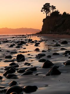 Butterfly Beach - Santa Barbara, CA