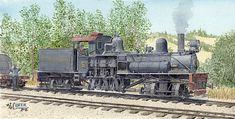 Coker Railroad Art: West Side Lumber Co. #5