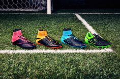 This New Line of Nike's Soccer Cleats Combines Comfort and Durability #shoes trendhunter.com