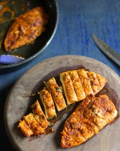 La` Petit Chef.. : Spice-rubbed grilled chicken with chimichurri sauc...
