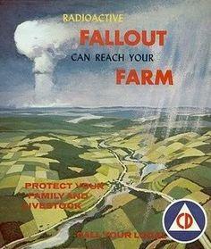Atomic Bomb Civilian Defense Posters
