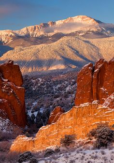 Garden of the Gods, Colorado; photo by Stan Rose