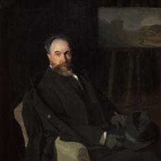 El pintor Aurelio de Beruete. 1902