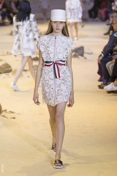 From WGSN Catwalks: Moncler Gamme Rouge - Spring/Summer 2017