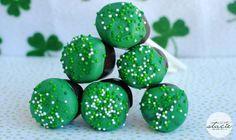 St. Patty's Day Marshmallow Pops