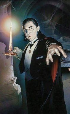 Bela Lugosi als Graf Dracula 1931 Classic Monster Movies, Classic Horror Movies, Classic Monsters, Comte Dracula, Graf Dracula, Dracula Untold, The Frankenstein, Horror Artwork, Horror Icons