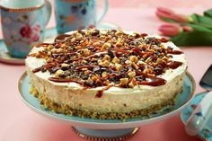 Foto: Svein Brimi Healthy Recipes, Healthy Food, Cupcake, Cheesecake, Food And Drink, Cook, Danish Recipes, Bakken, Caramel