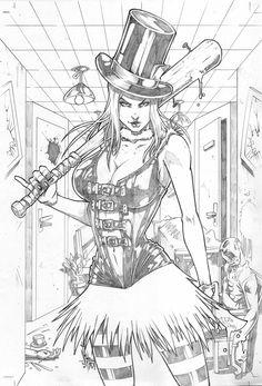 Grimm Fairy Tales Wonderland Asylum #4 by Vinz-el-Tabanas.deviantart.com on…