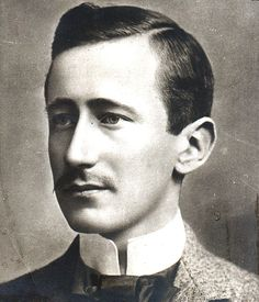 Marconi with moustache