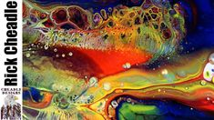 Chromacryl Paints, Elmer's School Glue, B'laster on Easy Flow Paint Pour...