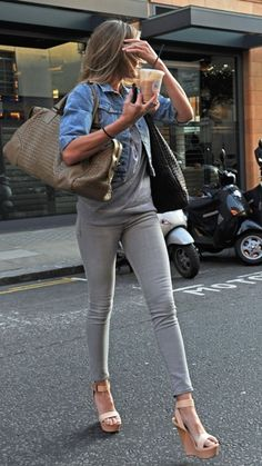 Cameron Diaz Getting an iced coffee in London on May 5 2011 #celebrityfashion