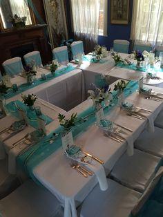 Wedding table setup layout engagement rings 21 Super ideas in 2019 Wedding Table Layouts, Wedding Table Setup, Wedding Ideas, Bridal Shower Tables, Bridal Shower Decorations, Table Decorations, Bridal Showers, Centerpieces, Tiffany Theme