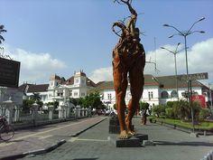 Statue in Yogyakarta