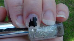 WESTIE Nail Art Decals Set of 50 West Highland by TrinityNails, $4.99