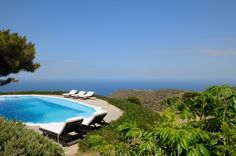 Villa Sifnos is a luxury villa rental with pool and sea view in Greece located in Sifnos Island, the (alleged) birthplace of Apollo and a lovely green Cycladic island Luxury Villa Rentals, The Old Days, Luxury Holidays, Apollo, The Locals, Greece, Scenery, Sea, Island