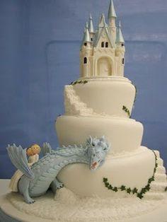 Alguma Bossa: No tema: castelos, cavaleiros e princesas...os bolos!