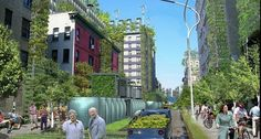 Sprouting Eco-Cities: Sustainability Trend-Setters Or Gated Communities? Urban Agriculture, Urban Farming, Urban Gardening, Green Architecture, Landscape Architecture, Landscape Design, Eco City, Washington Square Park, Urban Life