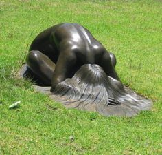 The Art of Micheal Teal - The Ancient One - Mother Earth. Bronze sculpture  CÍRCULO DA FORÇA
