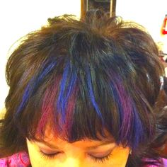 I did this Hair Chalking!!!!