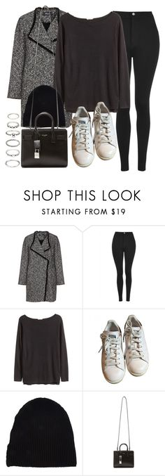 """""""Style #11650"""" by vany-alvarado ❤ liked on Polyvore featuring Elena Mirò, Topshop, H&M, adidas, Yves Saint Laurent and Forever 21"""