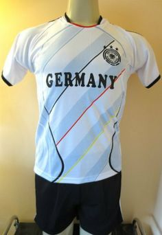 29b0ca8b60e GERMANY SOCCER KIDS SETS JERSEY   SHORT SIZE 14 .NEW by ATALAYA.  19.95.