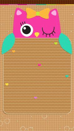 Owl Wallpaper, Summer Wallpaper, Hello Kitty Wallpaper, Locked Wallpaper, Cute Wallpaper Backgrounds, Cellphone Wallpaper, Colorful Wallpaper, Cute Wallpapers, Iphone Wallpapers