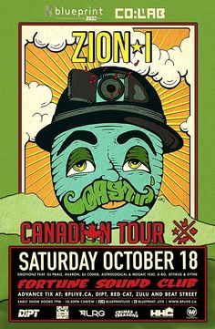 #LRG Presents Zion I at Fortune Sound Club #vancouver