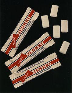 Old Jenkki chewing gum