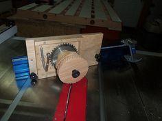 Wheel making jig using gear index