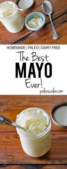 Business Cookware Ought To Be Sturdy And Sensible The Best Mayo Ever Paleo And Dairy Free Dairy Free Recipes, Gluten Free Recipes, Low Carb Recipes, Cooking Recipes, Healthy Recipes, Gluten Free Mayo Recipe, Paleo Mayonaise Recipe, Dairy Free Mayo, Diet Recipes