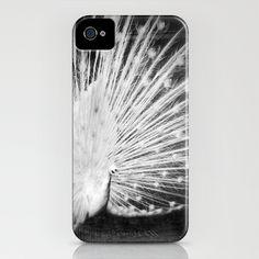 White Peacock iPhone Case by Dirk Wuestenhagen Imagery - $35.00
