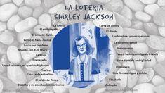 Relatos de Shirley Jackson Shirley Jackson, Books, The Omen, Good Thoughts, Feelings, Reading, Libros, Book, Book Illustrations