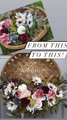 Diy Crafts Room Decor, Wreath Crafts, Diy Wreath, Wreath Ideas, Front Door Decor, Wreaths For Front Door, Fall Decor, Holiday Decor, Centerpieces