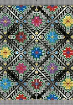 Cross Stitch Pillow, Just Cross Stitch, Cross Stitch Flowers, Cross Stitching, Cross Stitch Embroidery, Embroidery Patterns, Cross Stitch Designs, Cross Stitch Patterns, Bargello Quilts