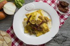 I ravioli ripieni di genovese sono la rivisitazione del classico ragù tipico della cucina campana. Un primo piatto da gourmet che è semplice e gustoso!