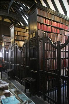 Chetham Library in Manchester, England