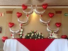 Resultado de imagen para arcos de globos para bodas Balloon Display, Balloon Decorations Party, Balloon Wall, Balloon Arch, Birthday Party Decorations, Wedding Decorations, Balloon Arrangements, Flower Centerpieces, 50s Theme Parties