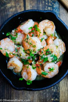 10 Minute Tequila Lime Shrimp