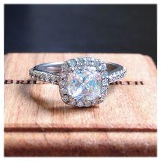 The Sonora Halo Diamond Ring
