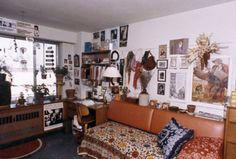 """awesome photos that show how college-dorm life has changed over 110 years"""" This Pic: This dorm room from the was pretty groovy."""
