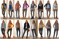 What to wear with khaki pants for women. Discover what outfits to wear with khaki pants for women. How to wear khaki pants for women: Best way to wear khaki pants women Olive Jeans, Olive Green Pants, Brown Pants, Militar Pants, Khaki Pants Outfit, Casual Outfits, Cute Outfits, Work Outfits, Casual Clothes