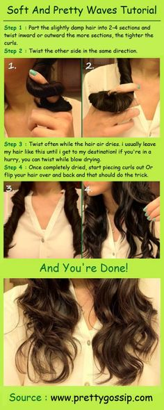 How to Get Soft And Pretty Waves - The Beauty Goddess
