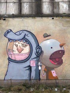 Krik Kong and Sainer (Etam Cru) /2015