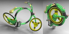 14 Cool Concept Bikes. You can fold this bike into a compact size! Need this for school...