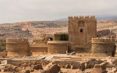 *SPAIN~File:Christian fortress in Alcazaba, Almeria Spain Holidays, Secret Places, Medieval Castle, Historical Architecture, Andalusia, Filming Locations, Spain Travel, Best Hotels, Trip Planning