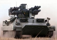 """The new Russian air defense missile systems """"Pine"""" on based MTLB"""