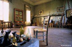 Cezanne's studio at Les Lauves