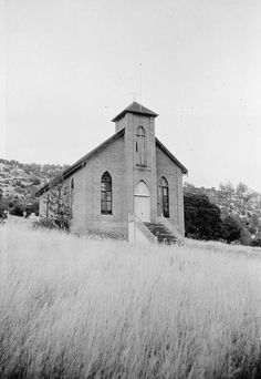 California History -- Calaveras County -- Copperopolis -- Copperopolis Congregational Church (built 1866)