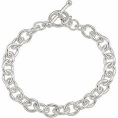 925 Sterling Silver Cable Bracelet W\Toggle Clasp Reeve and Knight. $89.00. Promptly Packaged with Free Shipping and Free Gift Box... Perfect for Gift Giving. This item features a high polish finish for Excellent sparkle and pop. Manufactured using up-to-date manufacturing techniques ensuring the highest quality and value. This jewelry is symbolic in nature and can be the perfect gift for any and all occasions. Completely redesigned and revamped for the year 2012